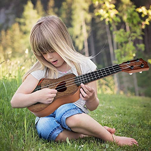 (LtrottedJ Beginner Classical Ukulele Guitar Educational Musical Instrument Toy for Kids)