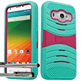 zte imperial ll phone cases - for ZTE Imperial ll 2 Arch Hybrid Stand Cover Case Stylus Pen ApexGears (TM) Mint Teal