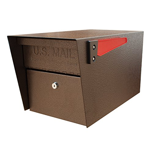 Mail Boss 7508 Curbside Mail Manager Locking Security Mailbox, Bronze by Mail Boss