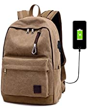 Laptop Backpack with USB Charging Port, Casual Daypacks Fashion Business Backpack, Travel Rucksacksfit 15.6 Inch Laptop and Notebook