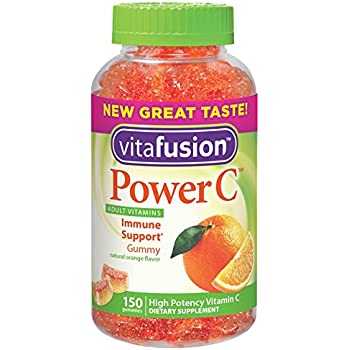 Vitafusion Power C, Gummy Vitamins For Adults, 150-Count (Packaging May Vary)