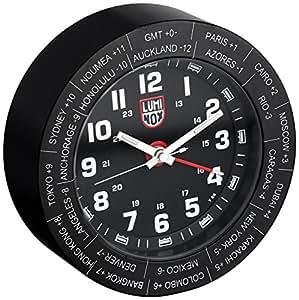 Luminox A.LWAC.B Stainless Steel Alarm Clock