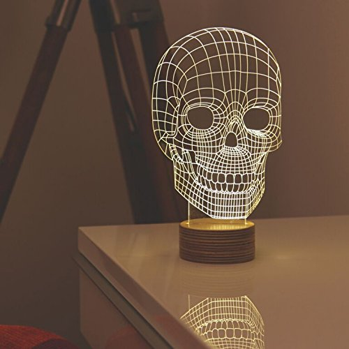 Skull Lamp - Designed by Nir Chehanowski for MoMA by MoMA