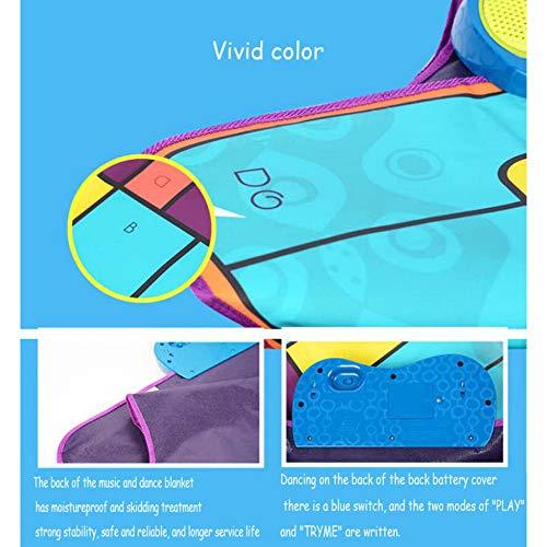 QXMEI Children's Music Piano Blanket Sports Fitness Blanket Dance Mat Fun Games by QXMEI (Image #6)
