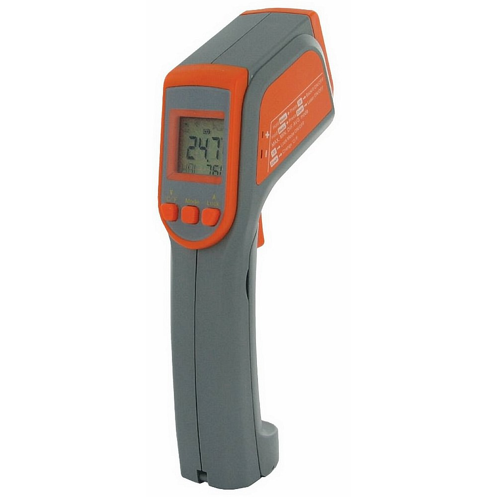 Metris TN418LD The Ultimate Professional Grade Infrared Thermometer with 16:1 D:S Ratio, -60 to 625 Degree C Temperature Range by Metris
