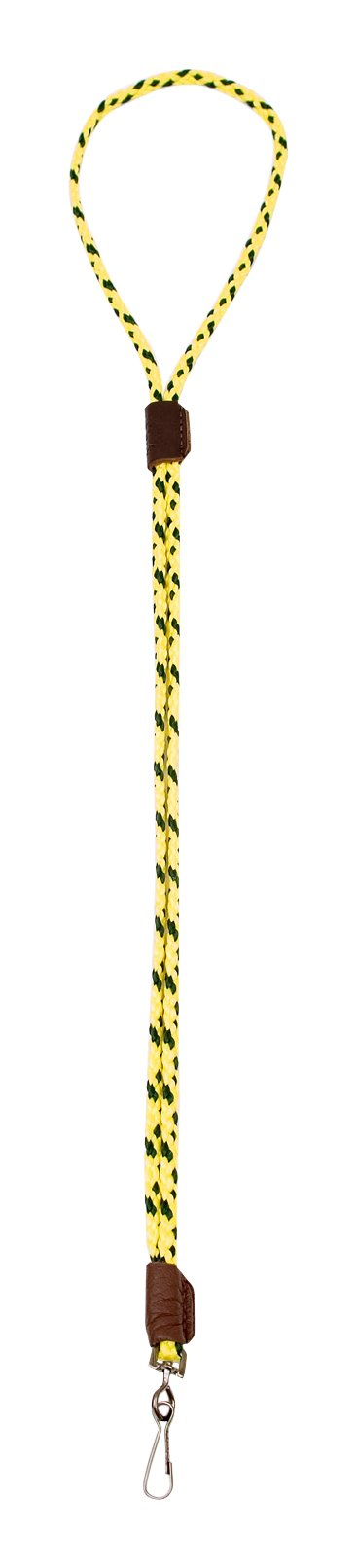 Mendota Pet Single Lanyard Whistle, 1/8 by 25-Inch, Hi Viz Yellow