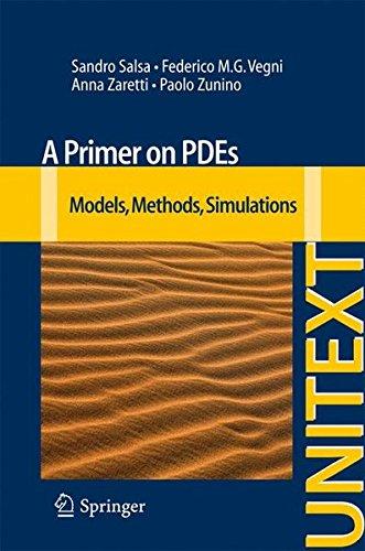 A Primer on PDEs: Models, Methods, Simulations (UNITEXT)