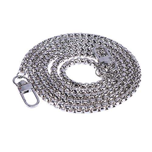 TENDYCOCO Bag Chains Metal Bag Strap Replacement with Buckles for Evening Bag Clutch Buckle Clutch Evening Bag