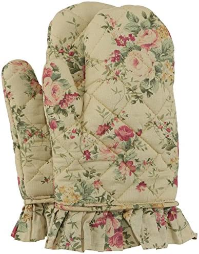 Neoviva Cotton Quilted Floral Citron