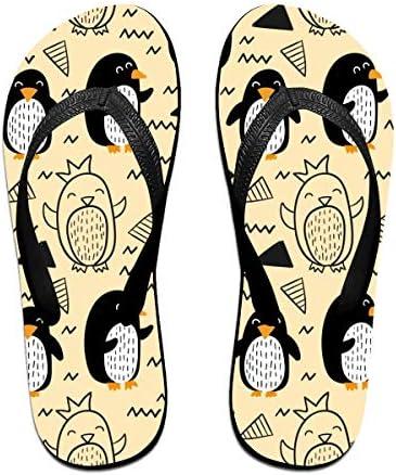 ビーチシューズ ペンギン 漫画 ビーチサンダル 島ぞうり 夏 サンダル ベランダ 痛くない 滑り止め カジュアル シンプル おしゃれ 柔らかい 軽量 人気 室内履き アウトドア 海 プール リゾート ユニセックス