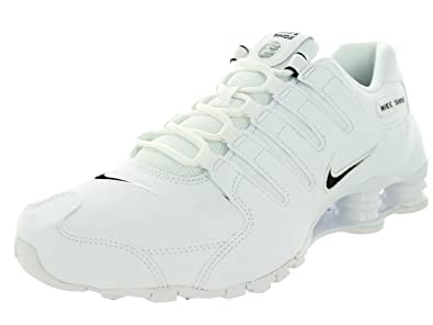 the latest c1b08 a2b8c Shox NZ Cuir Chaussures de Course