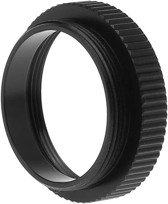 JIACUO 5MM M/étal C /à CS Mount Lens Adapter Converter Ring Extension Tube pour CCTV Security Camera Accessories