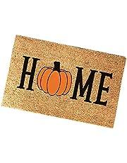 Halloween deur mat antislip welkom ingang tapijt cartoon brief vloer tapijt 40x60cm stijl 1