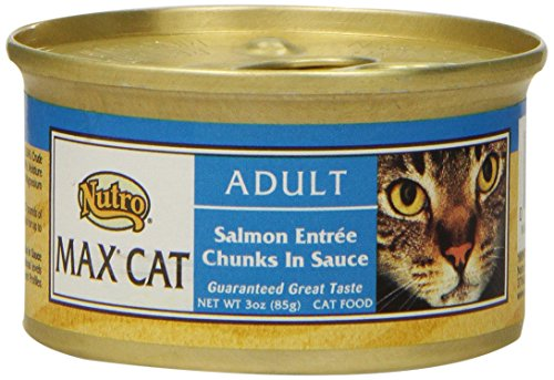 max cat salmon entree chunks