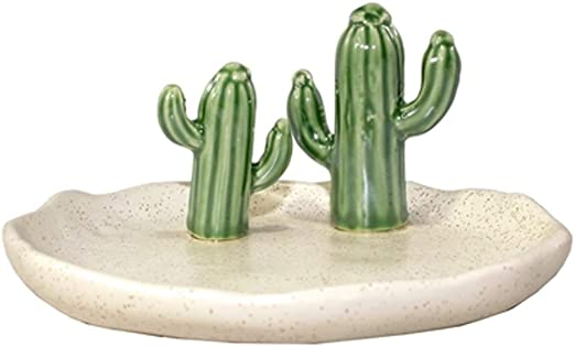 Ring Holder Copper /&  Bronze Cactus