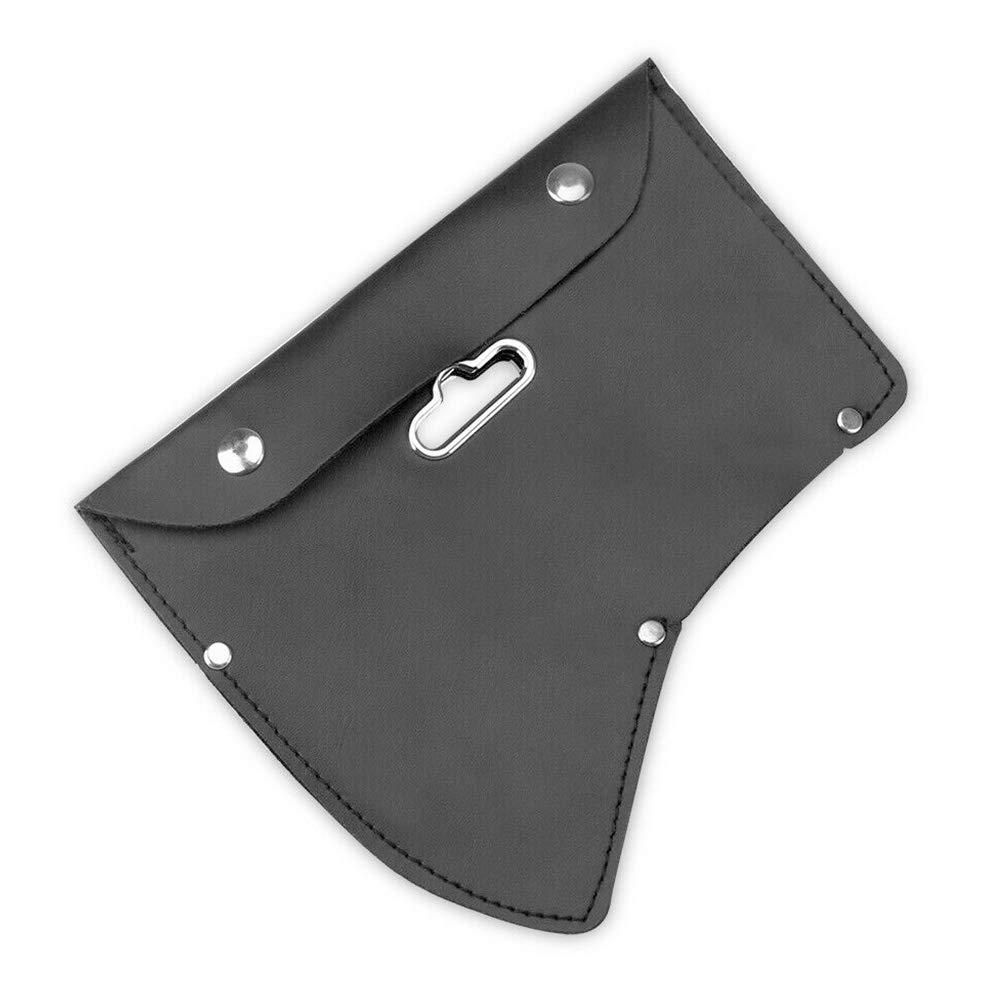 Taille Unique Noir Yzki /Étui de Protection pour Hache en Cuir PU avec Crochet