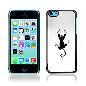 Carcasa Funda Case // V0000738 Cat Grabing With Claws // Apple Iphone 5C