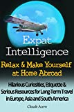 Expat Intelligence: Relax & Make Yourself at Home Abroad: Hilarious Curiosities, Etiquette and Serious Resources for Long-Term Travel in Europe, Asia and South America