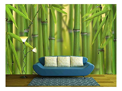 Bamboo Sprouts Forest Background Wall Decor