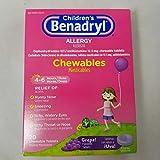 Benadryl Child Chew Tbs G Size 20ct Benadryl