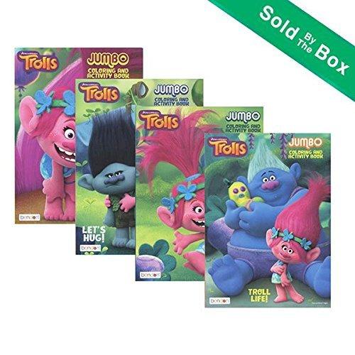 TROLLS Jumbo Coloring & Activity Book
