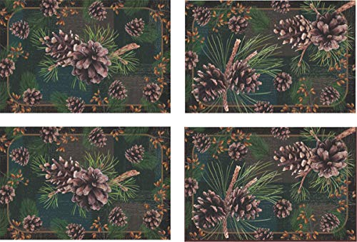 pine cone placemats - 3