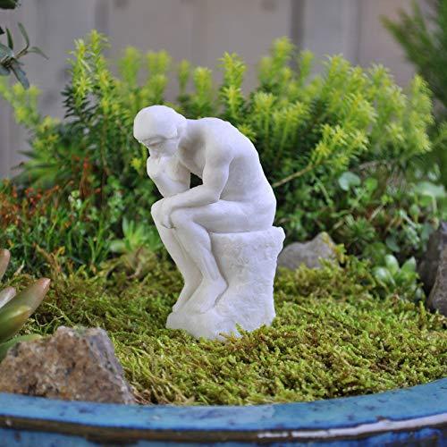 ShopForAllYou Figurines and Statues Miniature Dollhouse Fairy Garden - Thinker Statue - Accessories -