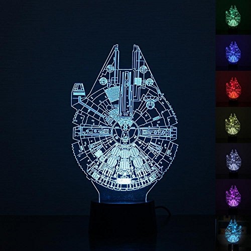 Leegoal Millennium Falcon Decoration Bedroom