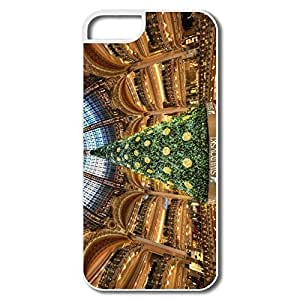 Christmas Tree Paris Plastic Fantastic Case For Sam Sung Galaxy S4 Mini Cover