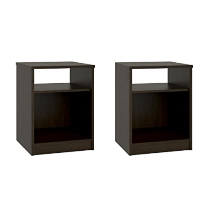 Amazon Com Night Stand With Simple Design In A Classic Look