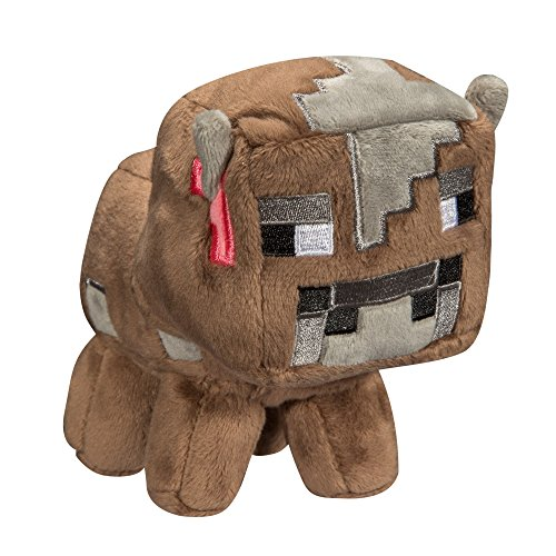 """JINX Minecraft Baby Cow Plush Stuffed Toy (Multi-Color, 5.5"""" Tall)"""
