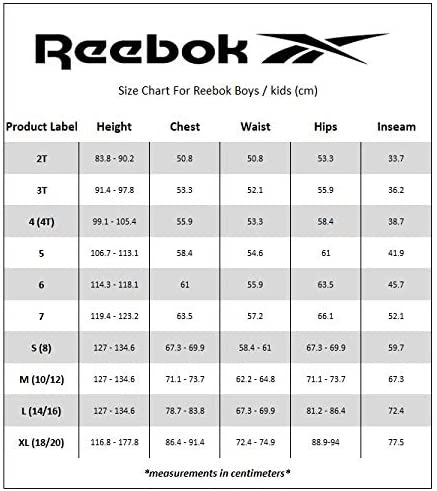 Reebok Boys' Tracksuit – Fleece Athletic Sweatshirt with Jogger Sweatpants (Toddler/Little Boys/Big Boys)