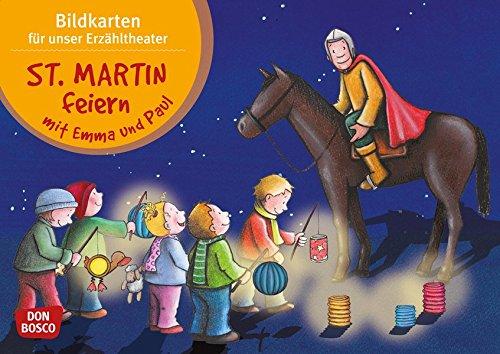 St. Martin feiern mit Emma und Paul - Bildkarten für unser Erzähltheater (Mit Kindern durch das Jahr - Bildkarten für unser Erzähltheater)