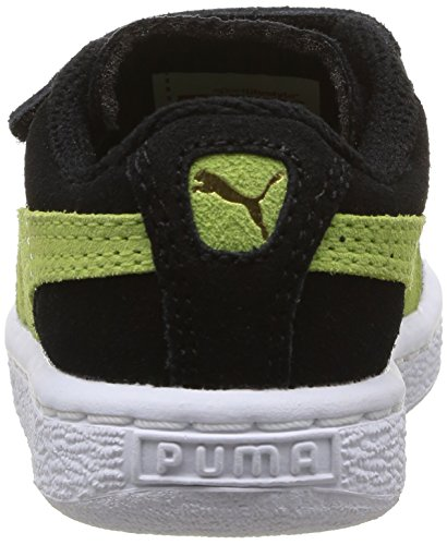 Puma 356274 Babyschuhe - Lauflernschuhe Schwarz - Noir (Black/Sharp Green)