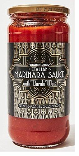 Italy Piedmont Barolo Italian - Trader Joe's Italian Marinara Sauce with Barolo Wine 24-ounce jar
