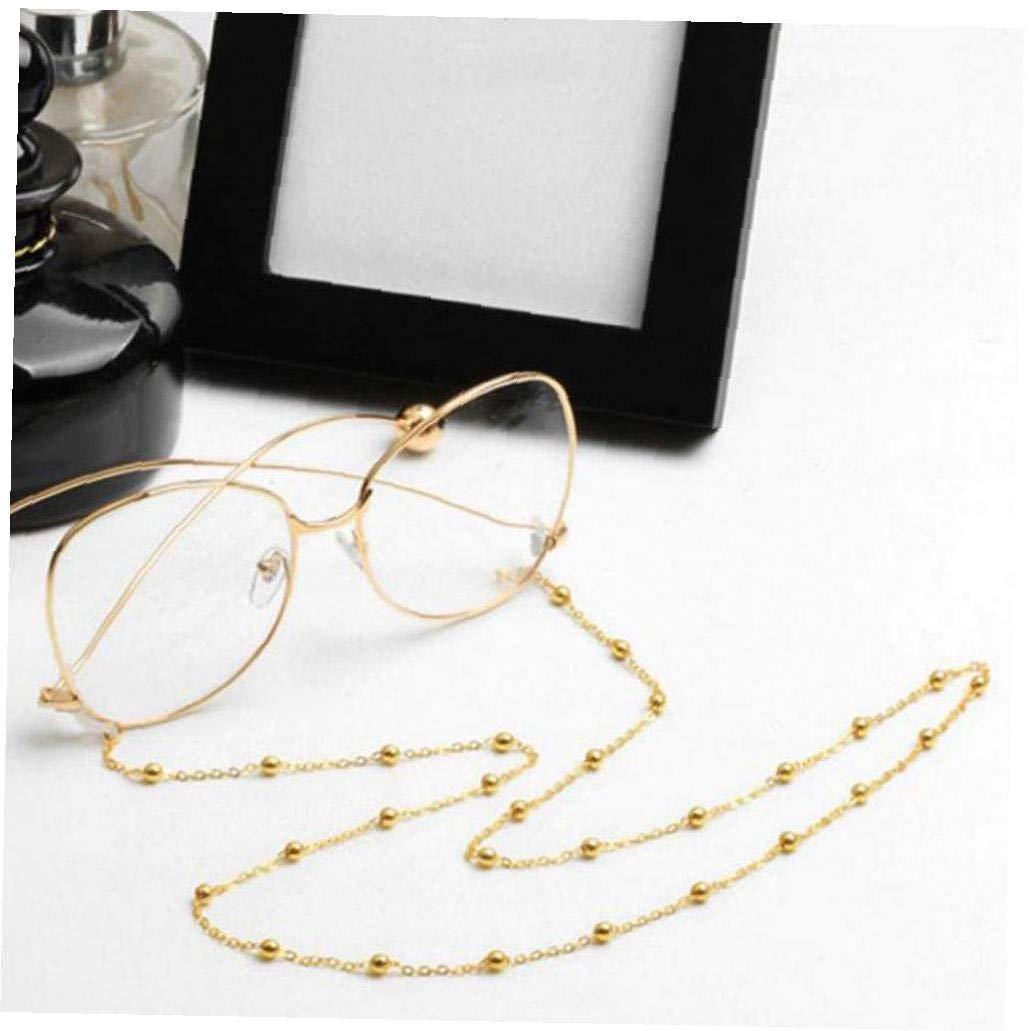 Catene di metallo occhiali da sole per la lettura in rilievo Eyewears supporto del cavo del laccio di corda