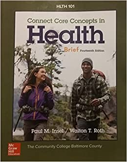 Connect Core Concepts In Health Pdf