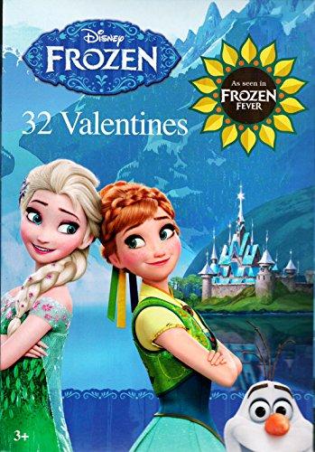 Disney Frozen Valentines Cards - 32 (Princess Valentines Day Cards)