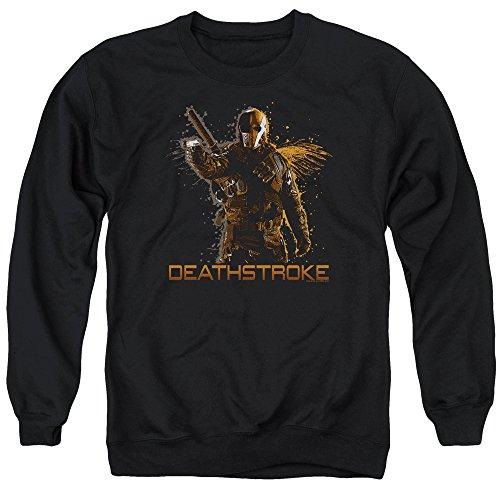 Trevco Arrow Deathstroke Unisex Adult Crewneck Sweatshirt For Men and Women