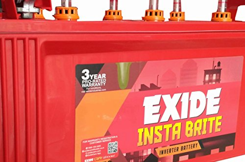 EXIDE INDUSTRIES 150Ah Insta Brite Inverter Ups Battery