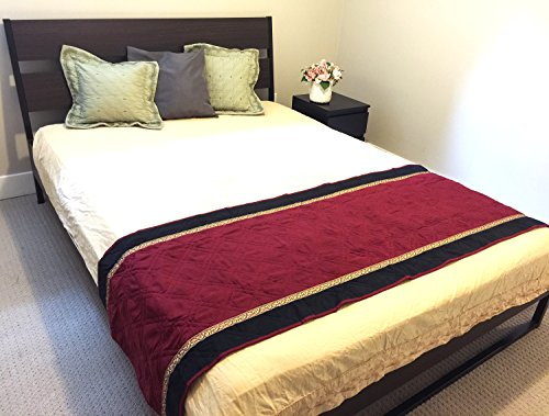 quilted bed runner - 1