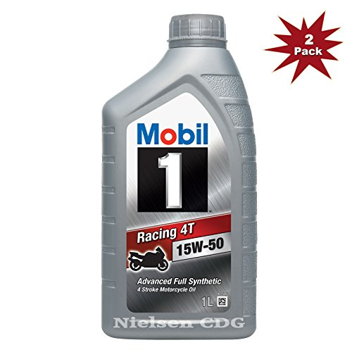 Mobil 1 Racing 4t 15w50 Advanced Fully Synthetic 4 Stroke Engine