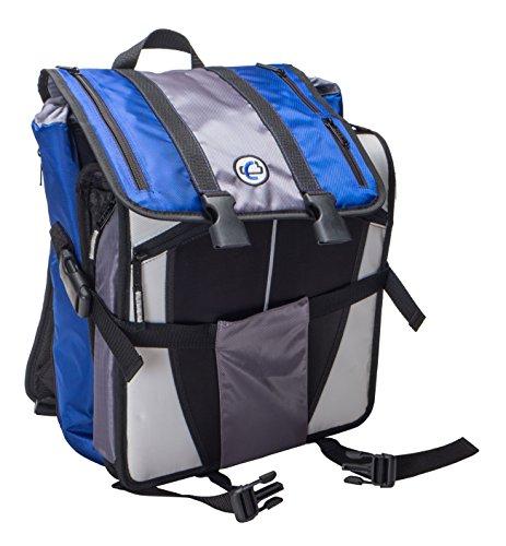 Case-it Case-It BKP-102 Laptop Backpack With Hide-Away