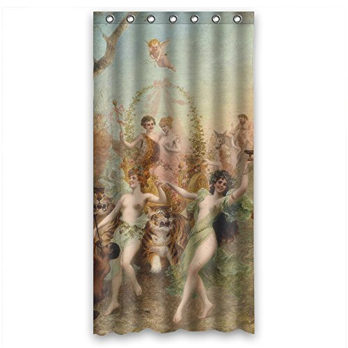 MaSoyy Shower Curtains Width X Height / 36 X 72 Inches / W H 90 By 180 Cm(fabric) Nice Choice For Him Birthday Wife Family Relatives. Machine Washable Beautiful Scenery Landscape Paintin (Outhouse Bathroom Towel Sets)