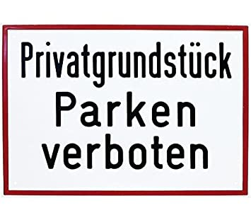 schild parken verboten la97 startupjobsfa. Black Bedroom Furniture Sets. Home Design Ideas