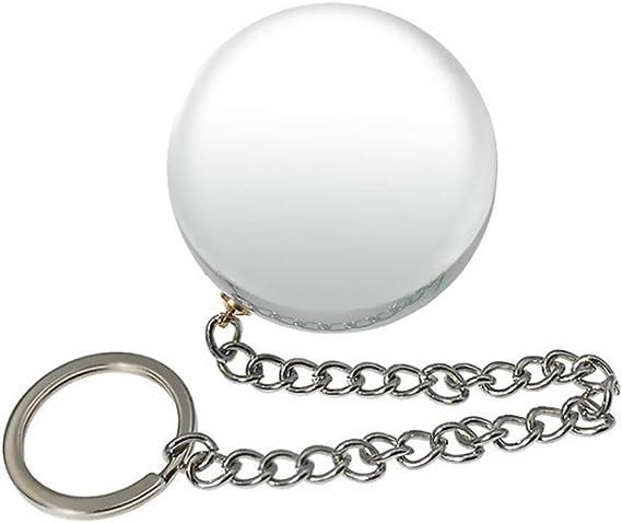 WRZHL 直径はガラス玉マッサージツール快適な挿入玩具スーパー巨大なラウンドスタイルクリスタルAna'lプラグTシャツスムースさ6cm 防水性の 水晶の美容器 Switch