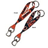 WinCraft Chicago Bears Official NFL 8 inch Star Wars Lanyard Bottle Opener Key Strap Key Chain Keychain by 394033