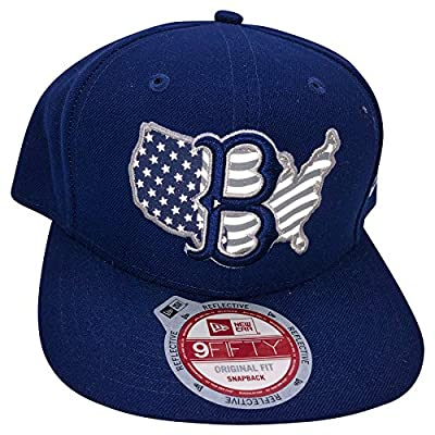 New Era MLB Brooklyn Dodgers 9FIFTY Snapback Adjustable Hat by NEW ERA