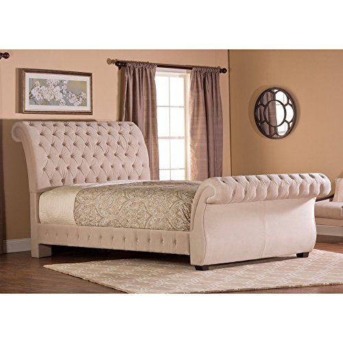Hillsdale Bombay Tufted Upholstered Sleigh
