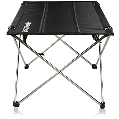 NEW BigFoot Outdoor UltraLight Folding Backpacking Chair and Table- Great for Camping, Hiking, Trekking, Fishing